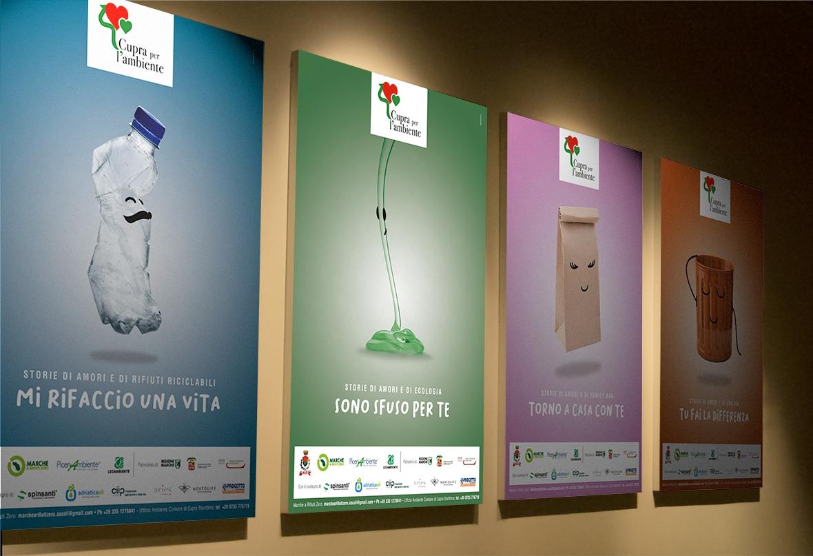 Ambiente Bene Comune, galleria poster