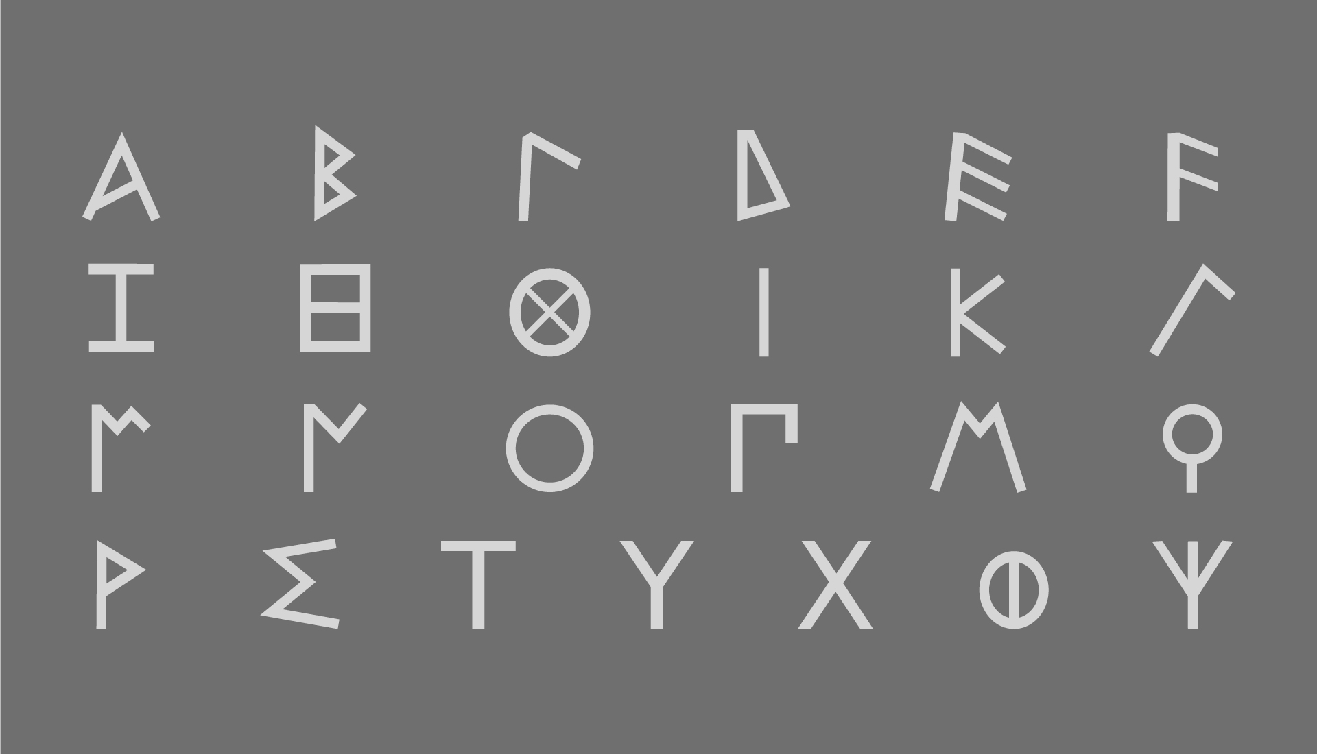 alfabeto greco arcaico
