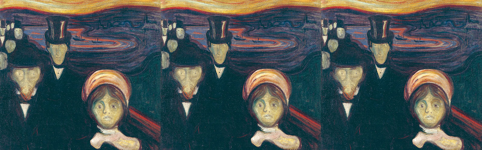L'ansia - Edvard Munch