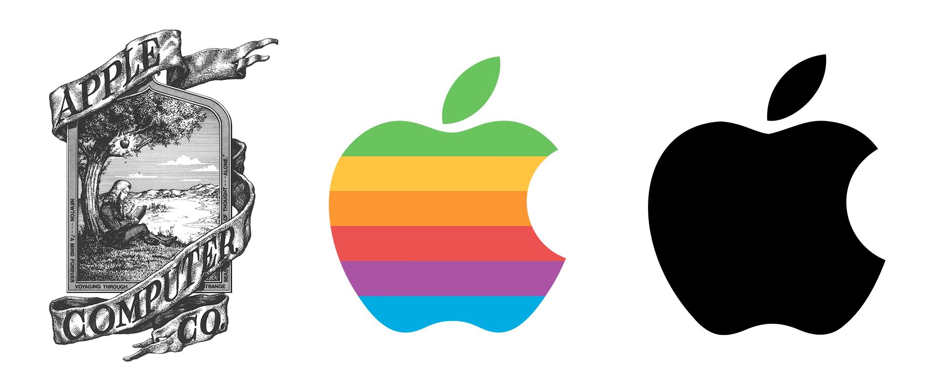 L'evoluzione del logo Apple