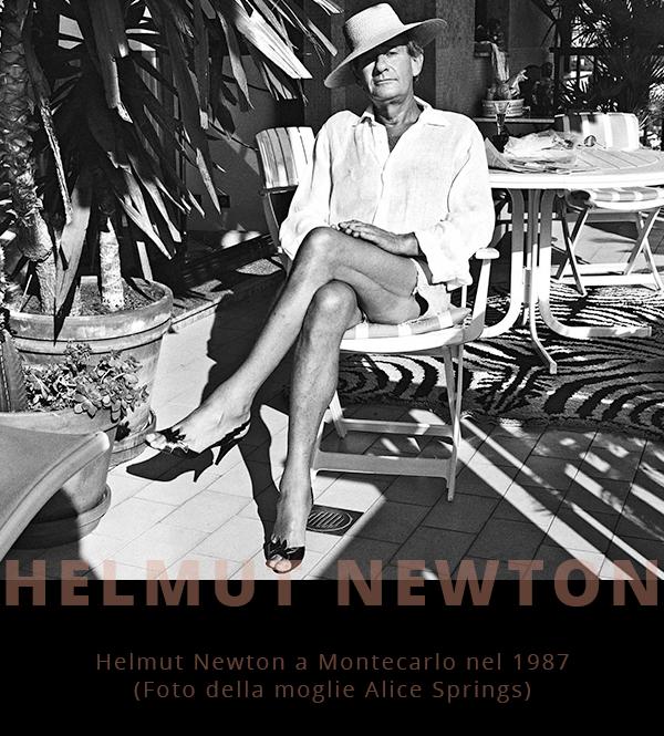 Helmut Newton - June Brunnell